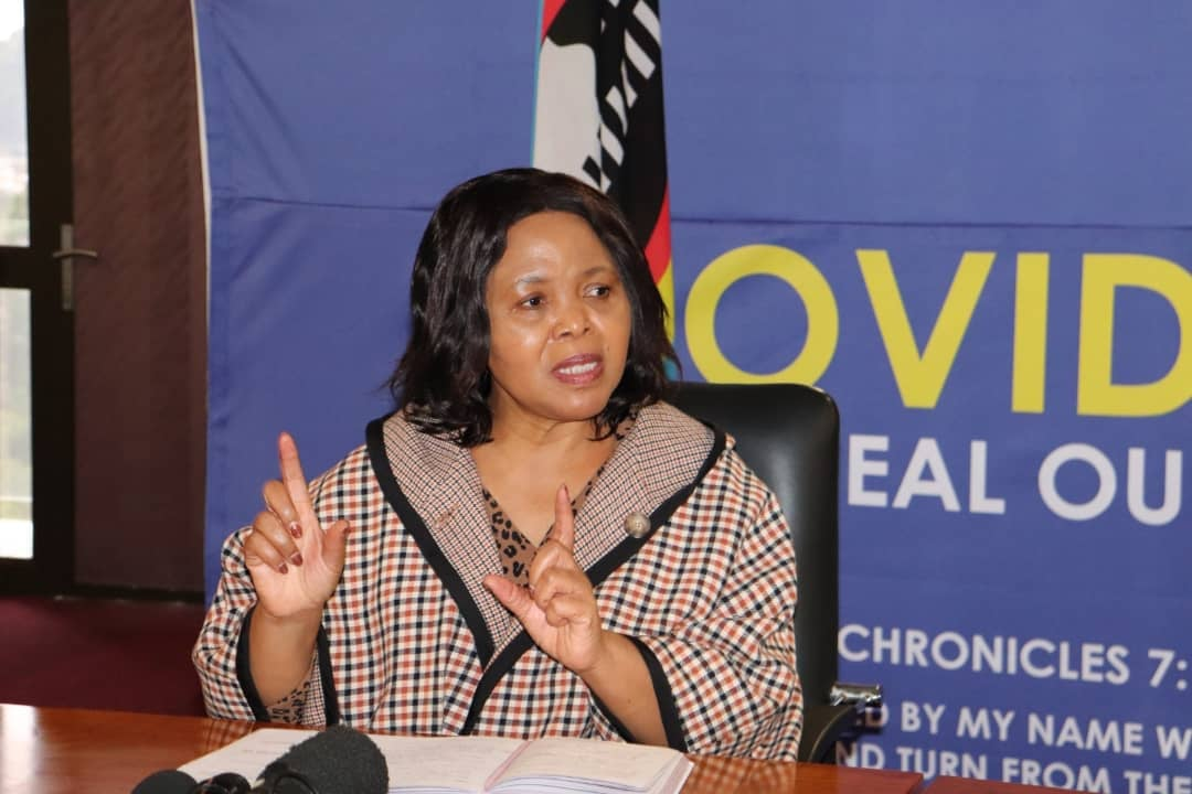 Health Minister Lizzie Nkosi has confirmed two COVID-19 deaths, 40 new cases