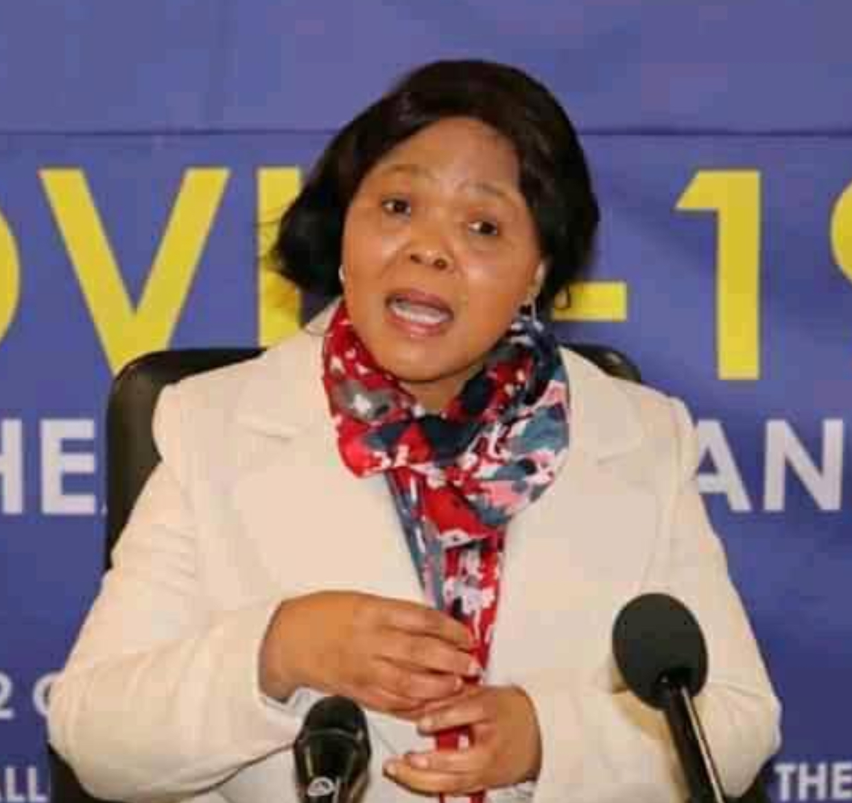 Minister Lizzie Nkosi warns on COVID-19 second wave, advices Nation to continue adopting safety measures.
