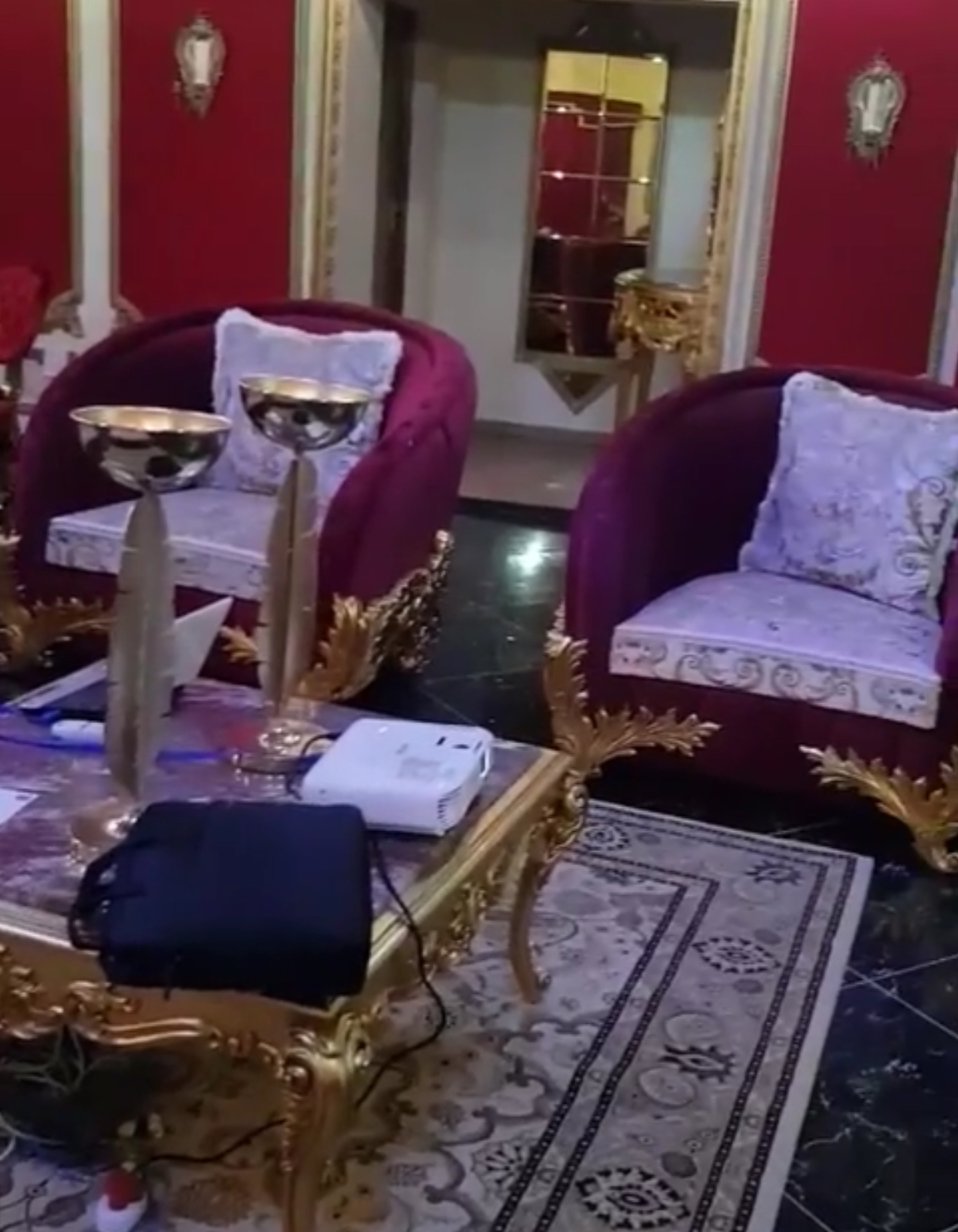 Princess Sikhanyiso and her E1.5million golden decorated house interior