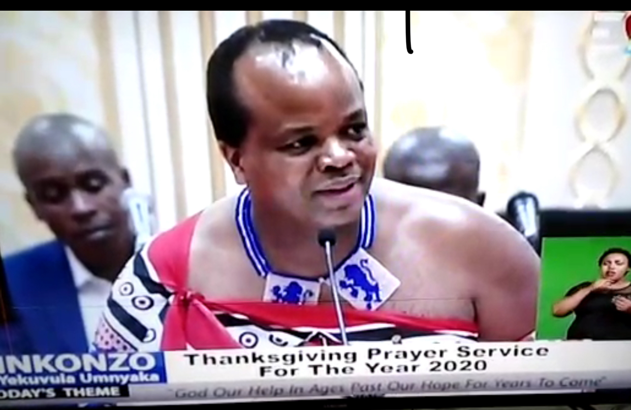 Critical sick Mswati no-show at royal Good Friday service, out-dated video circulated