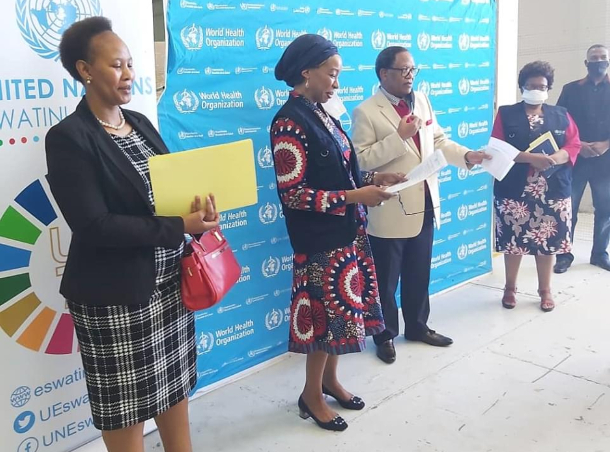 United Nations Eswatini donates E3million equipment to fight COVID-19