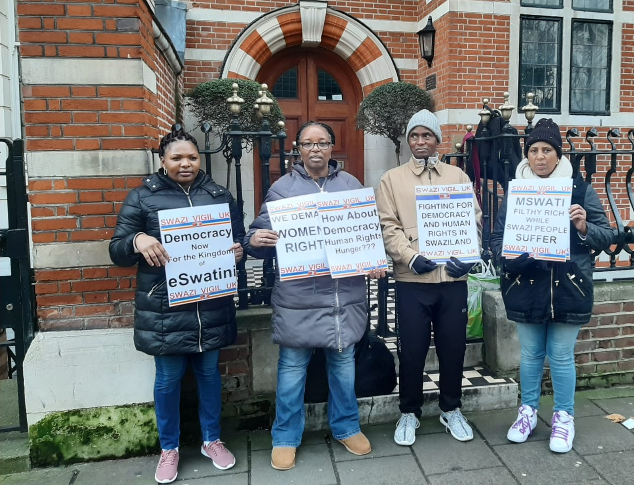 UK based political activists to continue engaging British government to put pressure on Eswatini