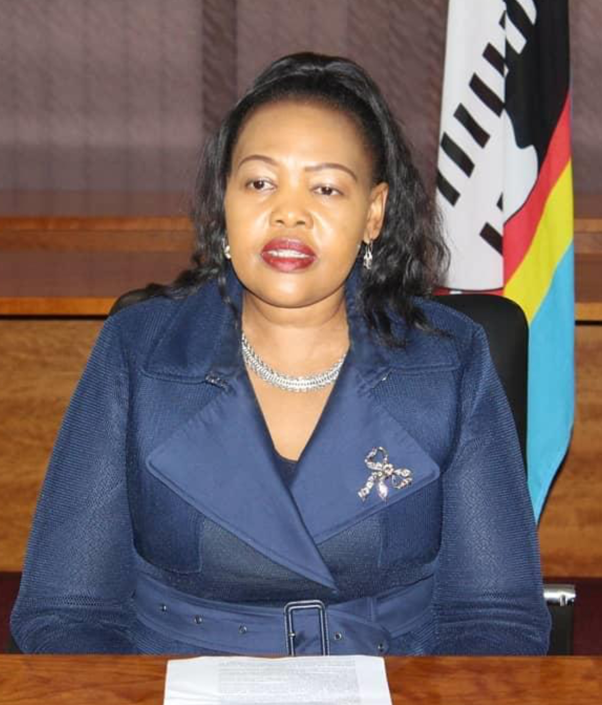 Justice Minister Pholile Shakantu, the drug dealing and money-laundering slay-queen